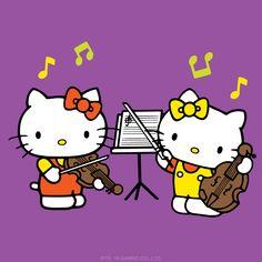 Sanrio: Hello Kitty & Mimmy:)