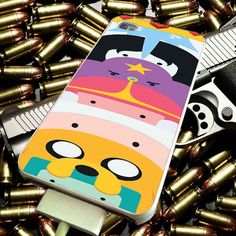 Adventure Time Time Totem Finn and Jake for iPhone 4/4s/5/5s/5c/6/6 Plus Case, Samsung Galaxy S3/S4/S5/Note 3/4 Case, iPod 4/5 Case, HtC One M7 M8 and Nexus Case ***