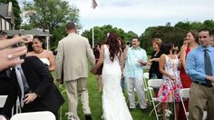 throwing rice/seed - recessional