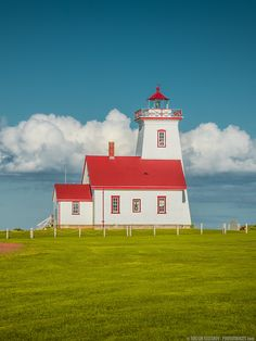 Wood Islands Lighthouse (Prince Edward Island) by Viktor Elizarov from… Landscape Photography, Travel Photography, Photography Tools, Lighthouse Pictures, Prince Edward Island, Anne Of Green Gables, California Travel, Canada Travel, Places To See