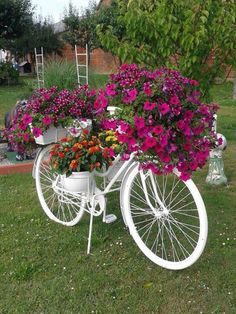 Cottage Container Gardening...this is so pretty