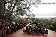 A breathtaking outdoor ceremony location- don't worry, the focus will still be on you and your partner.  [Padula Hills]