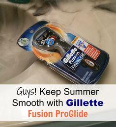 gillette-fusion-proglide #SmoothSummer #cbias #shop