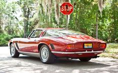 Rivolta Iso Grifo Rear --when I was a kid, I was entranced by the Iso Grifo...it sure looks great going away, and that's the view most would see of it!