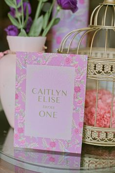 Caitlyn's Chinoiserie Themed Party – Table Centerpiece