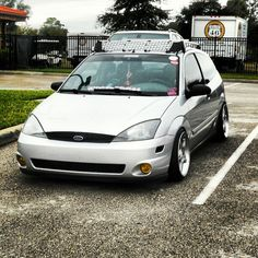 Ford Focus SVT... Mine needs more low.