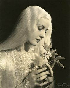 Anita Louise as Titania, Queen of the Fairies in A Midsummer Night's Dream, 1935