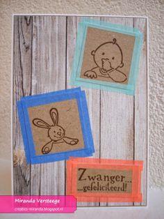 Miranda's Creaties: Washiweek #3: Kadertjes Baby Cards, Kids Cards, Washi Tape Crafts, Marianne Design, Masking Tape, Card Making, Wraps, Wrapping, Card Ideas