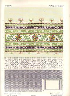 Latvian Embroidery. All charts - zagarins.net/Latvjuraksti/Krekluraksti/index.html