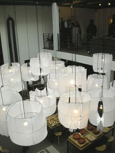 suspended lighting laterns merci Paris
