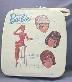 Barbie case ~ I have this, her swing and doll.  Not mint like this.