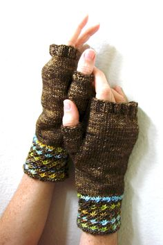 Mittens Knitting Pattern