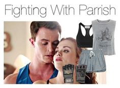 """Fighting With Parrish"" by fanfic123fanatic ❤ liked on Polyvore featuring moda, adidas, rag & bone/JEAN ve Everlast"