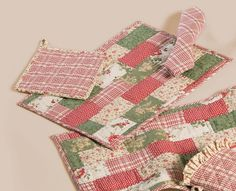 quilted placemats pinterest | quilted placemats