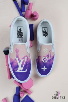 Explore our hand painted Vans old slip on louis vuitton womens sneakers.  Looking for Vans f569194c8