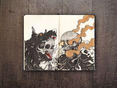 Sketchbook 2013-2014 on Behance