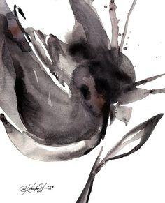 Organic Reflections ... Series No.17 ... By Kathy Morton Stanion