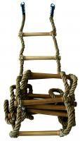 Drabina gimnastyczna sznurowa