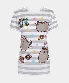 Dance Party Pusheen t-shirt (womens)