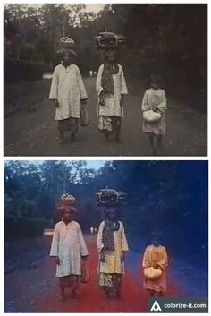 Beginilah Foto Minangkabau Zaman Dahulu Jika Diberi warna