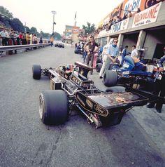 Emerson Fittipaldi, Lotus-Ford 72D, 1972 Italian GP, Monza