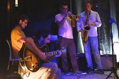 Jam session Nuoro Jazz Inverno 2015 - Angelo Lazzeri, Tore Spanu, Giovanni Sanna Passino, Massimo Carboni