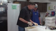 Jimmy Prepares Crab Cakes for Springfest with the Berlin-OC Optimist Club