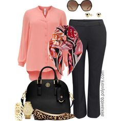 5 spring plus size work outfits - Page 5 of 5 - women-outfits.com #plus #plussize #work
