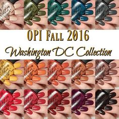 Anyone still up? I just posted my review of the @opi_products Fall 2016…