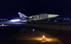 There is no rest for the Russian Air Force deployed in Syria, as its pilots fly sorties through the night in the fight against ISIL forces threatening the Arab republic.