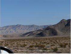 Mountain scenery in Nevada