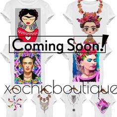 COMING SOON TO XOCHIC BOUTIQUE❣ ❣I am overjoyed to announce an amazing line of tees I will Carry in my closet!   A variety of designs! Sizes ranging from small to 4XL!  I will have limited quantities as I want to get a feel for what you love! I have chosen just a few designs I have fallen in love with!  ⭐️please like this listing to get notified on when items will be posted!⭐️ pictures are only some of the 20-30 designs I will carry! prices will range from $29-35 depending on the style and…