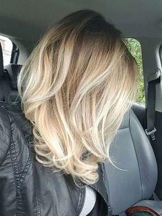 La Longueur Moyenne Coupes De Cheveux En Couches 2018