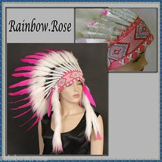 Pink headdress