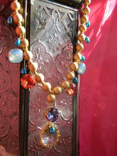 Valentine gift for her/Padparadscha/Pacific by OstaraTokyo on Etsy, $86.00