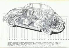 VW Beetle Schematic