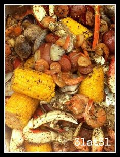 Cajun Seafood Boil on Memorial Day beats a BBQ any day!