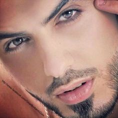 Omar Borkan Al Gala. This is the guy kicked out of Saudi Arabia for being too handsome. They were afraid of women's reactions to him. He is beautiful
