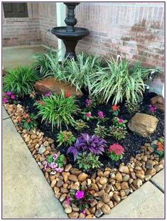 31 Wonderful Spring Garden Ideas For Front Yard And Backyard. If you are looking for Spring Garden Ideas For Front Yard And Backyard, You come to the right place. Here are the Spring Garden Ideas For. Garden Cottage, Diy Garden, Spring Garden, Shade Garden, Garden Club, Dream Garden, Small Front Yard Landscaping, Front Yard Design, Fence Design