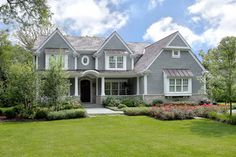 peaks, shingles, porch, windows could be bigger