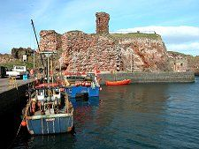 Victoria Harbour and Dunbar Castle