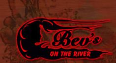 Bev's on the River - down by the river, oddly enough Places To Eat, Great Places, Iowa, Neon Signs, River, Night, Rivers