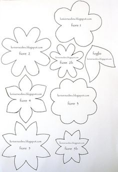 You Will Enjoy fabric flowers With These Helpful Tips Felt Flowers Patterns, Felt Patterns, Applique Patterns, Craft Patterns, Pattern Ideas, Handmade Flowers, Diy Flowers, Fabric Flowers, Paper Flowers
