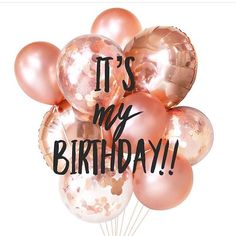 Happy birthday to me! Mix and Chic: Happy birthday to me! Happy Birthday To Me Quotes, Birthday Girl Quotes, Birthday Posts, Today Is My Birthday, 23rd Birthday, Its My Bday, Happy Birthday Images, Happy Birthday Wishes, Birthday Greetings