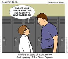 Rise of the Geeko Sapiens