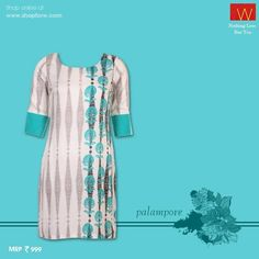 Our website is now updated : http://shopforw.com/categoryProducts.php?catID=151&maincatName=In%20Stores&smallCat=Kurta  This Palampore #kurta radiates #royalty in it's pattern - what do you think ?