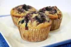 ATK Blueberry Muffins
