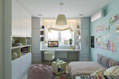 Girls bedroom Malachite on Behance