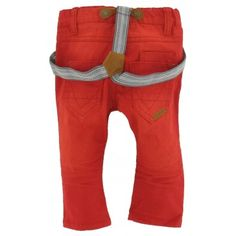 Name-it baby - Broek Colo rood