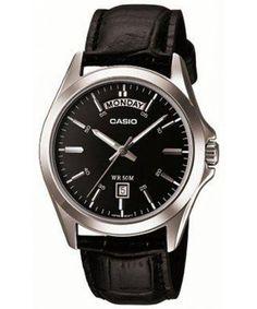 38a4bc20b55 Casio Analog Black Dial MTP-1370L-1AVDF MTP-1370L-1AV Mens Watch Canada